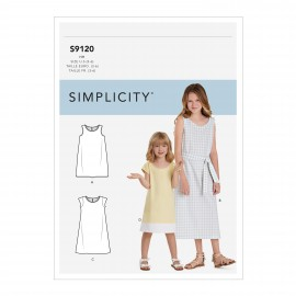 Patron robe Enfant - Simplicity n°S9120