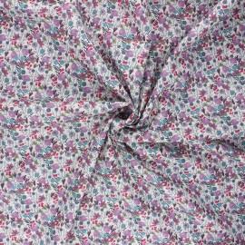 Cotton poplin fabric - parma Méline x 10cm