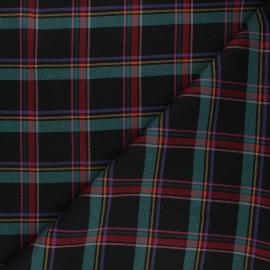 Polyviscose elastane fabric - black Portree x 10cm