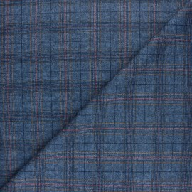 Viscose knit fabric - navy blue Wexford x 10cm