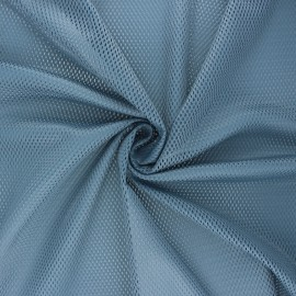 Tissu mesh Sporty  - gris foncé x 10cm