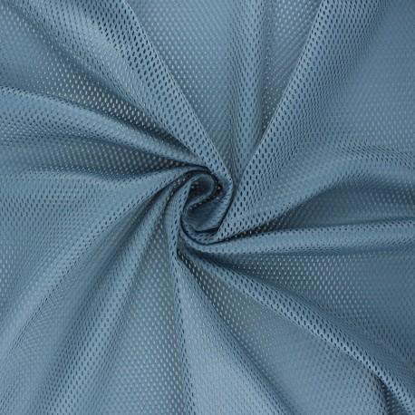 Mesh fabric - dark grey Sporty x 10cm