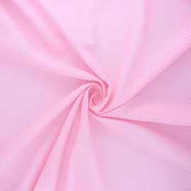 Mesh fabric - pink Sporty x 10cm