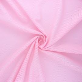 Tissu mesh Sporty  - rose x 10cm