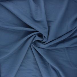 Stitched viscose fabric - swell blue x 10cm