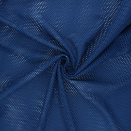 Tissu mesh Sporty - bleu marine x 10cm