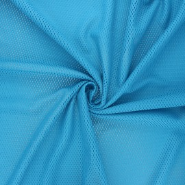 Mesh fabric - blue Sporty x 10cm