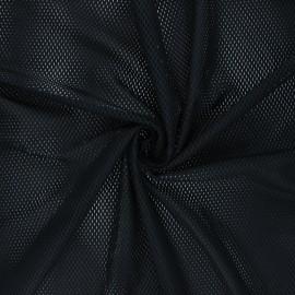 Tissu mesh Sporty - noir x 10cm