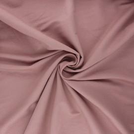 Stitched viscose fabric - rosewood x 10cm