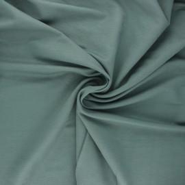 Stitched viscose fabric - eucalyptus x 10cm