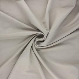 Tissu piqué viscose - grège x 10cm
