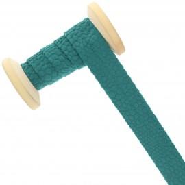 20 mm Velvet Bias Binding Roll - green Python