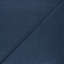 Special Polo cotton fabric - swell blue x 10cm