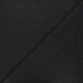 Tissu jersey piqué spécial Polo - gris anthracite x 10cm