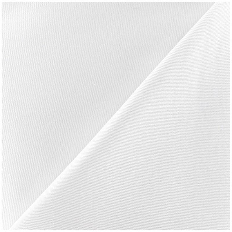 tissu gabardine coton blanc x 10cm ma petite mercerie. Black Bedroom Furniture Sets. Home Design Ideas