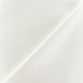 Tissu Gabardine coton écru x 10cm