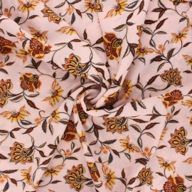 Tissu crêpe Georgette Olga - rose clair x 10cm