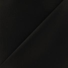 Tissu Gabardine coton marron x 10cm