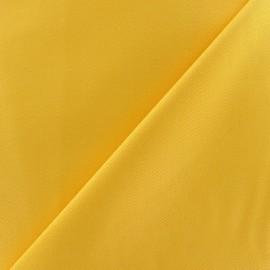 ♥ Coupon 50 cm X 145 cm ♥ Tissu Gabardine coton jaune