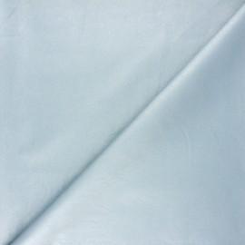 Imitation leather fabric - blue Astra x 10cm