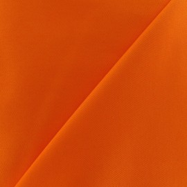 Tissu Gabardine coton orange x 10cm