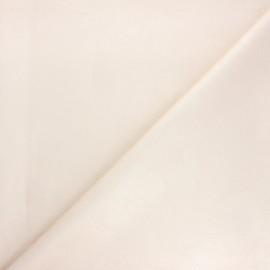 Imitation leather fabric - beige Astra x 10cm