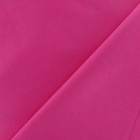 Cotton Gabardine Fabric - Fuchsia x 10cm
