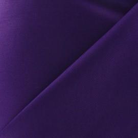 Tissu Gabardine coton violet x 10cm