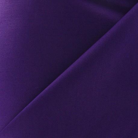 Cotton Gabardine Fabric - Purple x 10cm