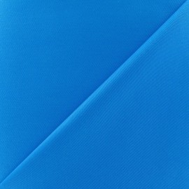 Tissu Gabardine coton turquoise x 10cm