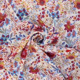 Viscose fabric - white Haloa x 10cm