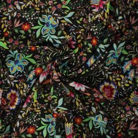 Viscose fabric - black Haloa x 10cm