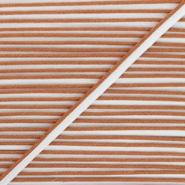 Lurex Piping - copper Party x 1m