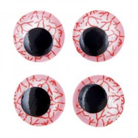 Joggle eyes stickers Rico design - vein (set of 4)