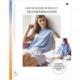 """Livre """"Le livre de couture de Rico n°11 - Transformation"""""""