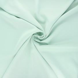 Satin fabric - mint green Duchesse x 10cm