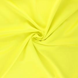 Tissu satin Duchesse - jaune x 10cm