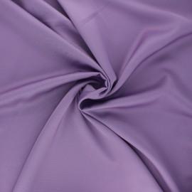 Tissu satin Duchesse - parme x 10cm