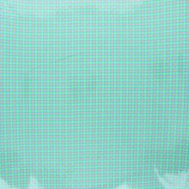 Tissu coton enduit Petit Pan Django - azur x 10cm