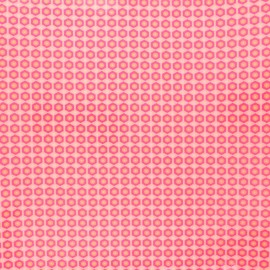 Petit Pan coated cotton fabric - pink Mikko x 10cm