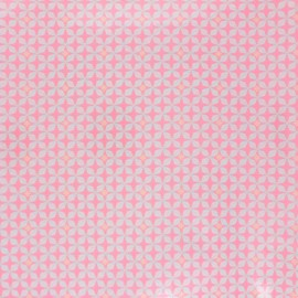 Petit Pan coated cotton fabric - light pink Helium x 10cm