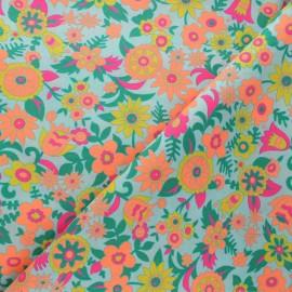 Tissu coton Petit Pan Hippie - azur x 10cm