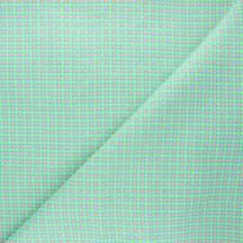 Tissu coton Petit Pan Django - azur x 10cm