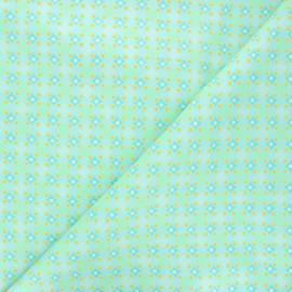 Tissu coton Petit Pan Satellite of love - azur x 10cm
