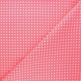 Tissu coton Petit Pan Mikko - rose x 10cm