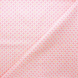 Petit Pan cotton fabric - light pink Helium x 10cm