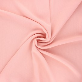 Crepe Muslin Fabric - light pink x 50cm
