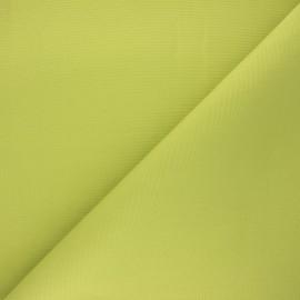 Tissu toile plein air Dralon® Sunny - vert pomme x 10cm