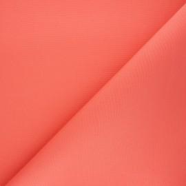 Tissu toile plein air Dralon® Sunny - corail x 10cm