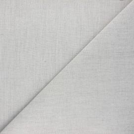 Tissu toile plein air Dralon® Sunny - gris chiné x 10cm